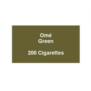 Ome Green Superslims - 10 packs of 20 cigarettes (200)