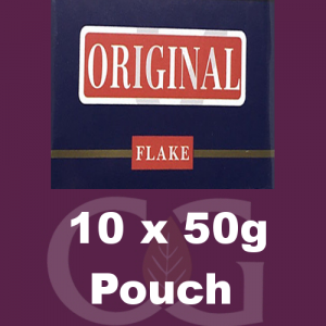 Original Flake Pipe Tobacco 10x50g Pouches