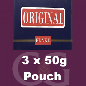 Original Flake Pipe Tobacco 3x50g Pouches