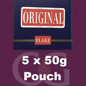 Original Flake Pipe Tobacco 5x50g Pouches