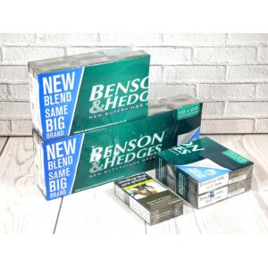 Benson & Hedges New Green Superkings - 20 Packs of 20 Cigarettes (400)