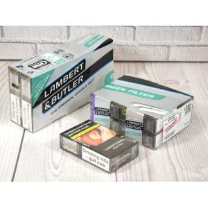 Lambert & Butler Green Filter Kingsize - 10 packs of 20 Cigarettes (200)