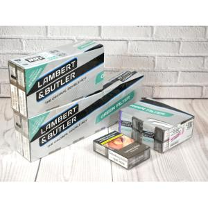 Lambert & Butler Green Filter Kingsize - 20 packs of 20 Cigarettes (400)
