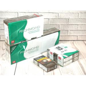 Richmond Green Filter Superkings - 20 Packs of 20 cigarettes (400)
