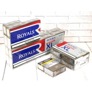 Royals Red Kingsize XL - 8 Packs of 23 Cigarettes (184)