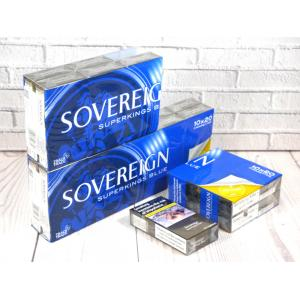 Sovereign Blue Superking - 20 packs of 20 cigarettes (400)