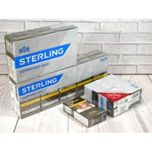 Sterling Blue Superking - 20 Packs of 20 Cigarettes (400)
