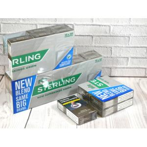 Sterling New Green Superkings - 20 Packs of 20 Cigarettes (400)