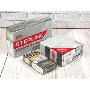 Sterling Red Superking  - 10 Packs of 20 Cigarettes (200)