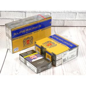 Superkings Bright - 10 packs of 20 cigarettes (200)