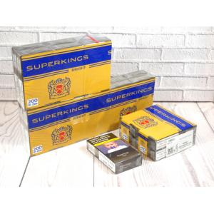 Superkings Bright - 20 packs of 20 cigarettes (400)