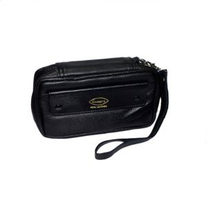 Comoys of London High Quality Zip up Pipe Case and Tobacco pouch