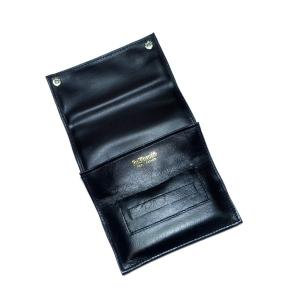 Dr Plumb Button Roll Up Tobacco Pouch with Cigarette Paper Holder