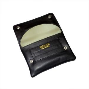 Dr Plumb Soft Leather Button Handrolling Tobacco Pouch