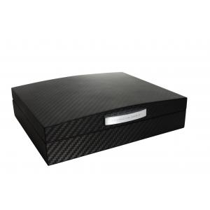 Porsche Carbon Black Small Humidor - 10 Cigars