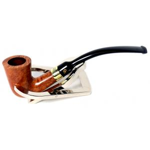 Peterson Calabash Gold Mount Natural Fishtail Pipe (PE031)