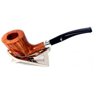 Peterson Natural Army D6 Silver Mounted Fishtail Pipe (PE035)