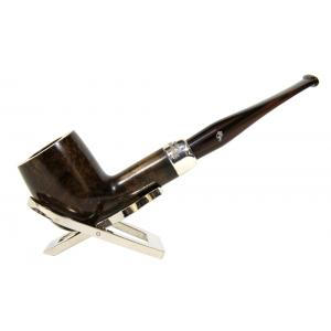 Peterson Ashford Silver Mounted 106 Fishtail Pipe (PE047)