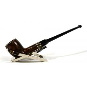 Peterson Belgique Smooth Nickel Mounted Fishtail Pipe (PE1178)