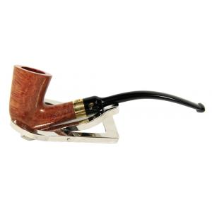 Peterson Calabash Gold Mount Natural Fishtail Pipe (PE599)