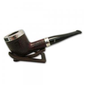 Peterson Silver Cap Rustic Fishtail Pipe 107 (PE633)