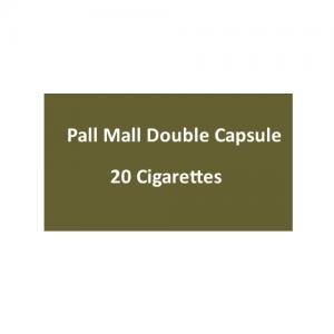 Pall Mall Double Capsule - 1 Pack of 20 Cigarettes (20)
