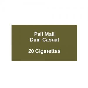 Pall Mall Dual Casual - 1 Pack of 20 Cigarettes (20)