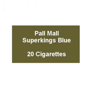 Pall Mall Superkings Blue - 1 Pack of 20 Cigarettes (20)