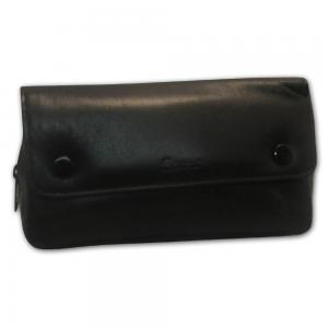 Peterson Black Leather Combination Pipe Pouch 137