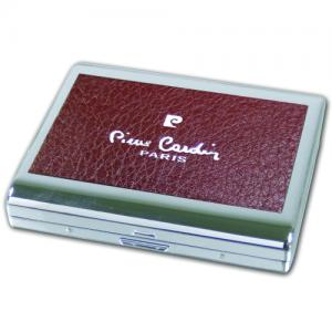 Pierre Cardin Large Cigarette Case - Red Leather