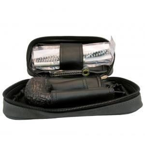 Black Friday Pipe Pouch Gift Set Grey - Bent Pipe