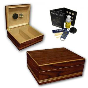 Prestige Duke Humidor - 50 Cigar Capacity - Best Seller