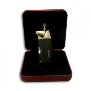 Promise Pipe Lighter - Black Crackle