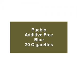 Pueblo Additive free Cigarettes - Blue - 1 x Pack of 20 (20)