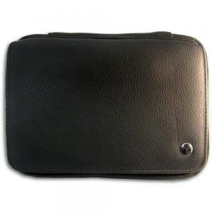 Rattrays Leather Black Knight Pipe Bag (PP027)