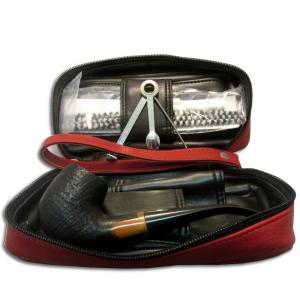 Black Friday Pipe Pouch Gift Set - Red