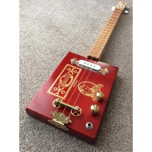 Handcrafted Regius Orchant Seleccion Cigar Box Guitar