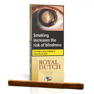 Ritmeester Royal Dutch Panatella Cigar - Pack of 5