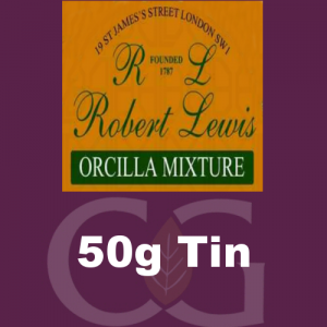 Robert Lewis Orcilla Mixture Pipe Tobacco 50g Tin