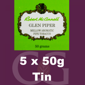 Robert McConnell Glen Piper Pipe Tobacco 5x50g Tins