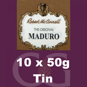 Robert McConnell Maduro Superb Pipe Tobacco 10x50g Tins