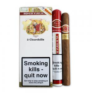 Romeo y Julieta Churchill Tubed Cigar - Pack of 3