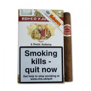 Romeo y Julieta Petit Julietas Cigar - Pack of 5 cigars