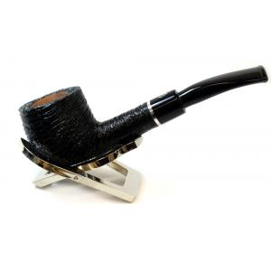 Savinelli Otello 121 Rustic Pot Semi Bent 6mm Pipe (SAV258)