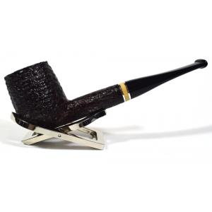 Savinelli Oscar Rusticated Brown 111 Straight 9mm Fishtail Pipe (SAV407)