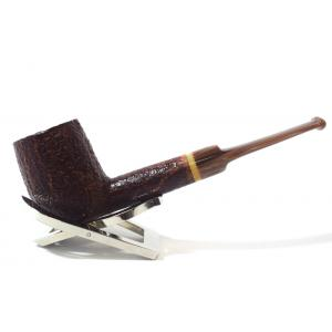 Savinelli Dolomiti 114 Rustic Light Brown 9mm Filter Fishtail Pipe (SAV575)