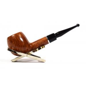 Savinelli Otello 207 Smooth Straight 6mm Fishtail Pipe (SAV75)