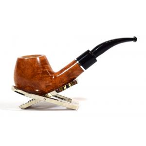 Savinelli Otello 645 Smooth Bent Apple 6mm Fishtail Pipe (SAV77)