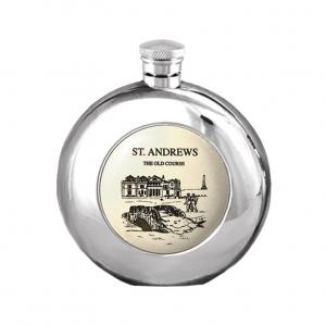 6oz Pewter Hip Flask - SC150