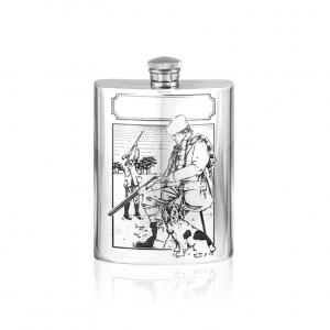 6oz Pewter Hip Flask - SF202